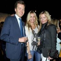 Oliver Barker, Melissa Odabash and Fru Tholstrup