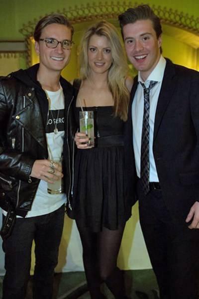 Oliver Proudlock, Charlotte Baer and Alex Gazzi