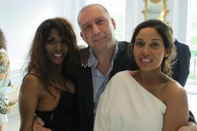Sinitta, Cevat Riza and Akashia Hoosein