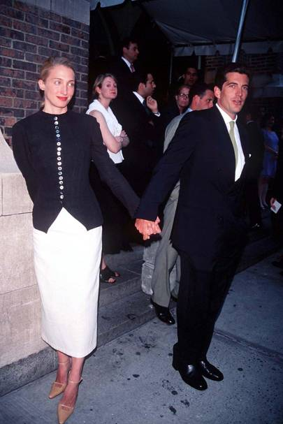 Carolyn Bessette Kennedy and John F Kennedy Jr, 1998