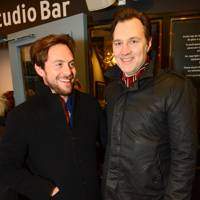 Stephen Campbell Moore and David Morrissey
