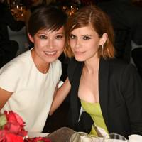 Sandra Choi and Kate Mara