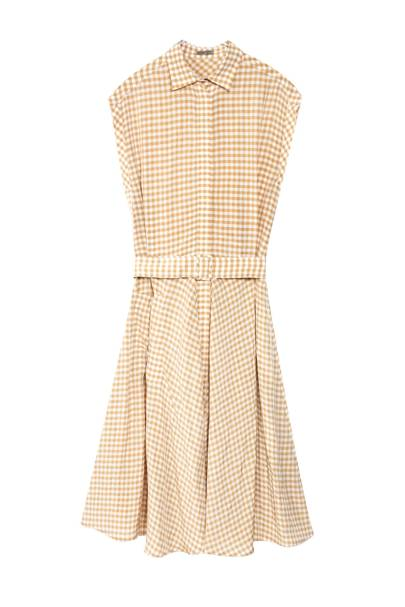Dress, £1,475, by Bottega Veneta