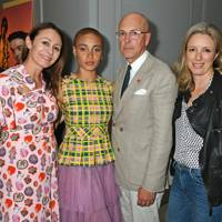 Caroline Rush, Adwoa Aboah, Dylan Jones and Stephanie Phair
