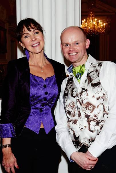 Edwina Wynyard and Simon Copeland