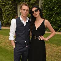 Jamie Campbell Bower and Matilda Lowther