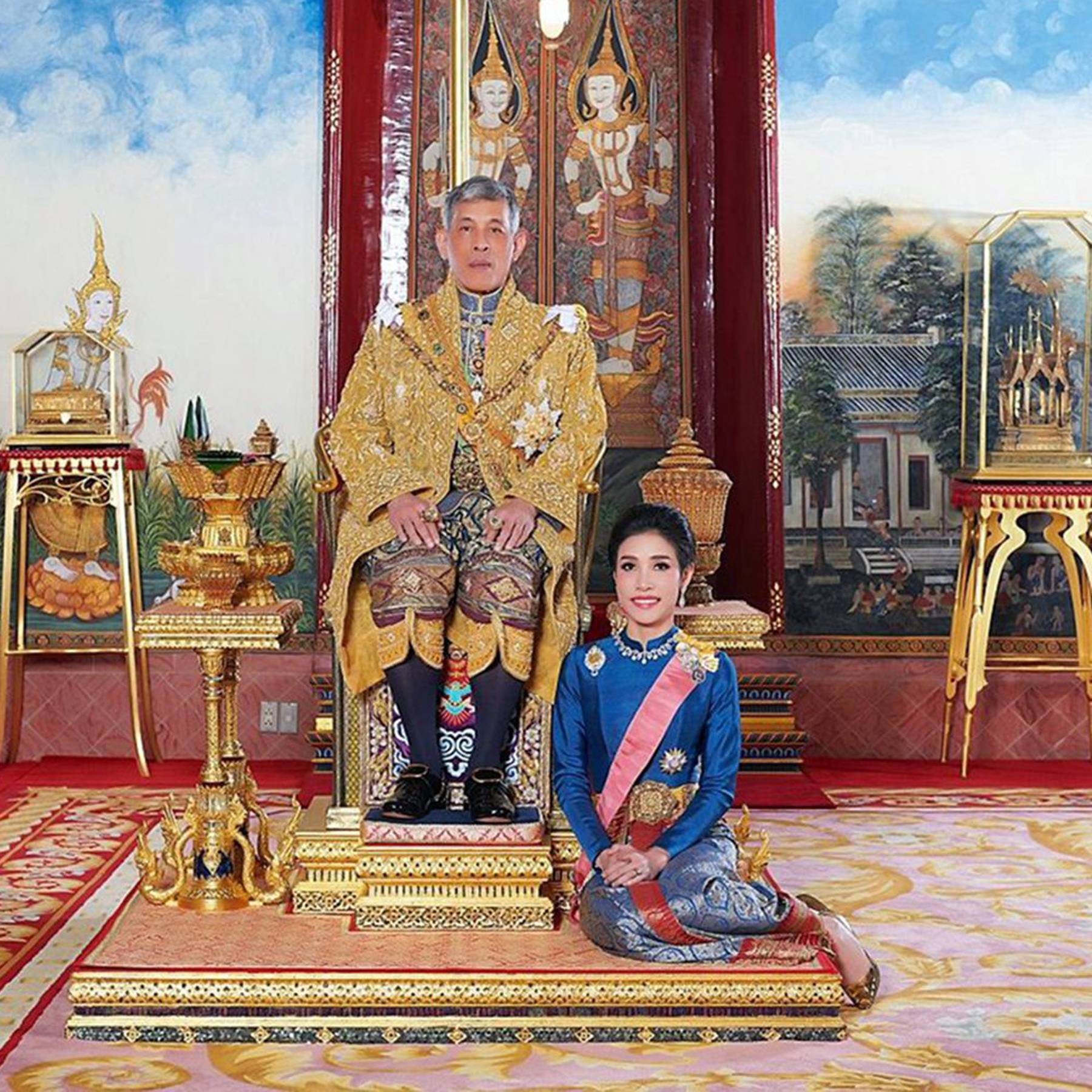 Newly appointed Thai Royal Consort dismissed in disgrace