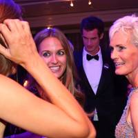 Kim Sears and Judy Murray
