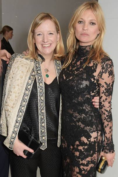 Sarah Burton and Kate Moss