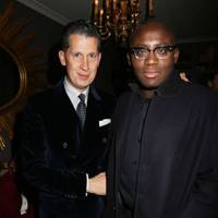 Stefano Tonchi and Edward Enninful