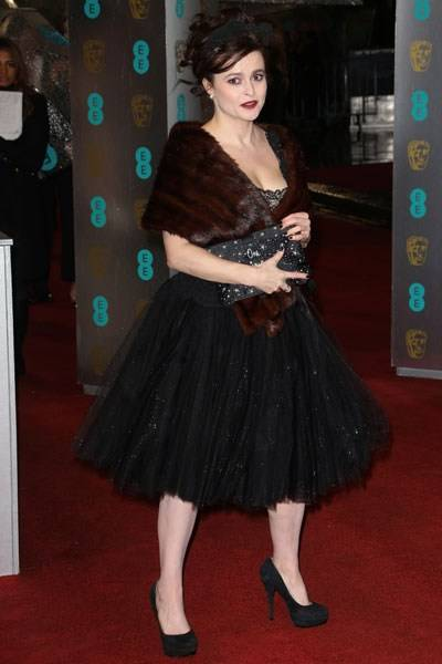 The 'We Can't Quite Believe It' Prize for Restrained Dressing: Helena Bonham Carter