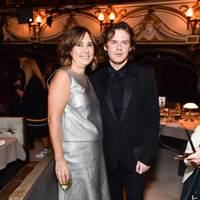Alexandra Shulman and Christopher Kane