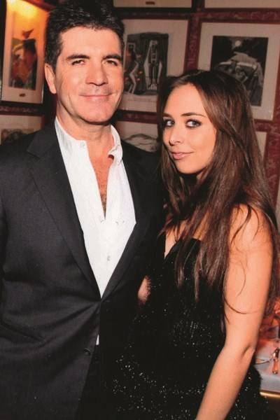 Simon Cowell and Chloe Green