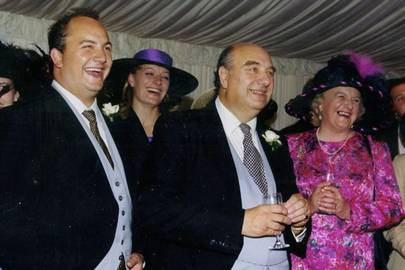 The Hon William Conolly-Carew, the Hon Mrs McGrath, Lord Carew and Lady Carew