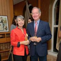 Christine Buerk and Michael Buerk