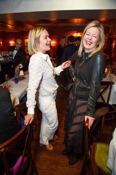 Mariella Frostrup and Lady Helen Taylor