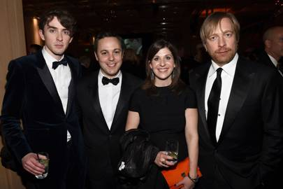 Matthew Beard, Ido Ostrowsky, Nora Grossman and Morten Tyldum