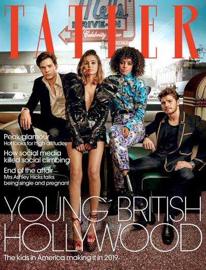 hollywood s young brit pack star on the cover of the february issue