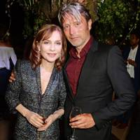 Isabelle Huppert and Mads Mikkelsen