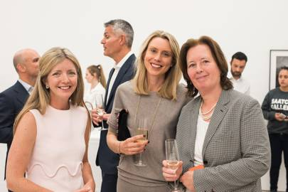 Sarah Khairallah, Pippa Petrow and Carmel McConnell