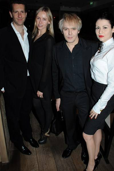 Marlon Abela, Nadya Abela, Nick Rhodes and Nefer Suvio