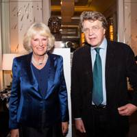 The Duchess of Cornwall and Merlin Holland