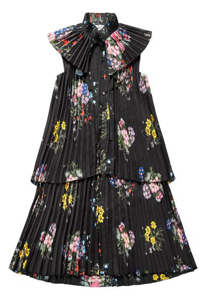 Floral pleated dress, £99.99