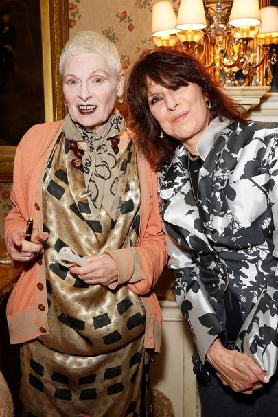Vivienne Westwood and Chrissie Hynde