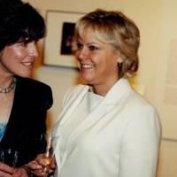 Mrs Michael McCalmont and the Hon Vanessa Yerburgh