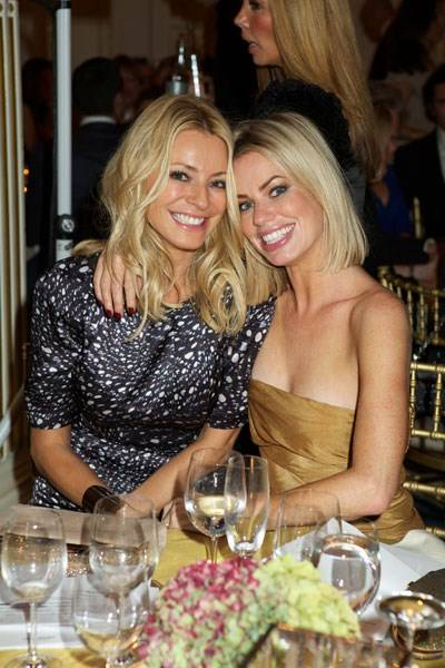 Tess Daly and Caroline Stanbury