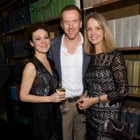 Helen McCrory, Damian Lewis and Sabrina Guinness