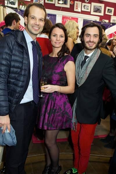 Edouard Peers de Nieuwburgh, Julie Clerambourg and Marcy de Soultrait