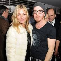 Kate Moss and Tim Minchin