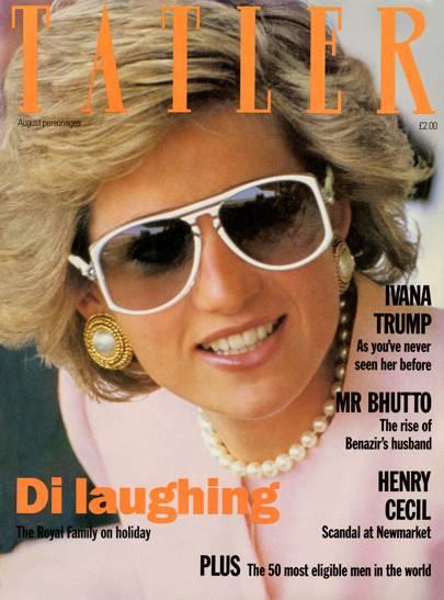 Tatler, August 1990