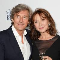 Nigel Havers and Cherie Lunghi