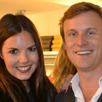 Stephanie Peers and Tom Hamilton