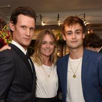 Matt Smith, Cressida Bonas and Douglas Booth
