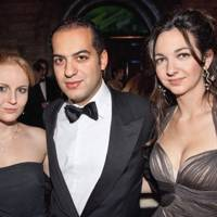 Rasha Said, Charif Ben Romdane and Celia Weinstock