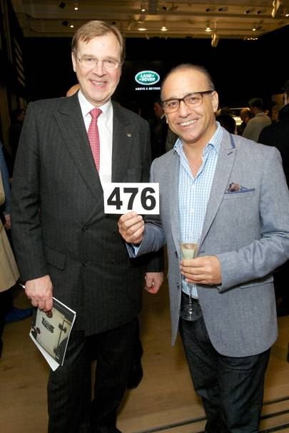 Robert Brooks and Theo Paphitis