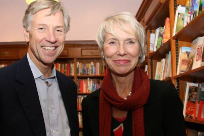 Bruce Huber and Baroness Bottomley