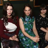 Anya Taylor-Joy, Ruth Wilson and Felicity Jones at Erdem A/W18