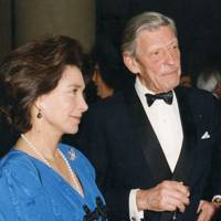 Mrs Patricia Rawlings and Sir Anguns Ogilvy