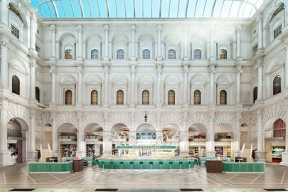 Fortnum & Mason has opened a restaurant in the City