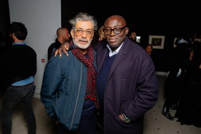 Marc Ascoli and Edward Enninful