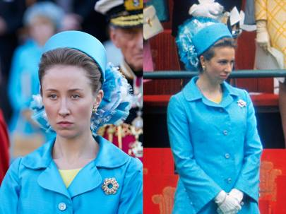 Erin Doherty como Princesa Ana