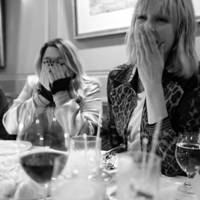 Katie Lyall and Edie Campbell