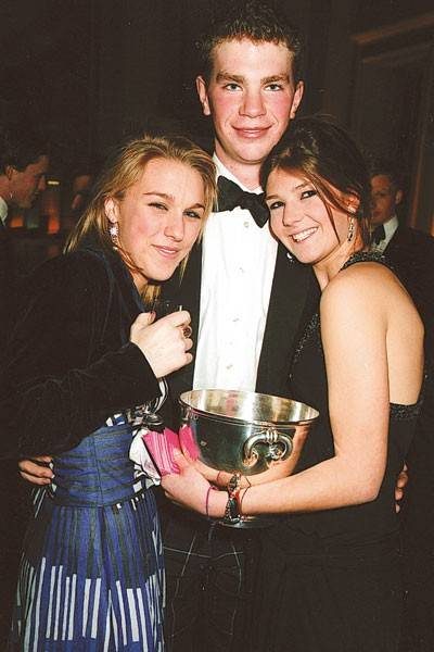 Olivia Harrower, Lord Dunglass and Susannah Coltman