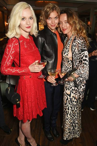 Portia Freeman, Arizona Muse and Alice Temperley