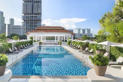 Singapore's most glamorous hotel reopens after multi-million-dollar renovations