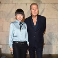Angelica Cheung and Mario Testino